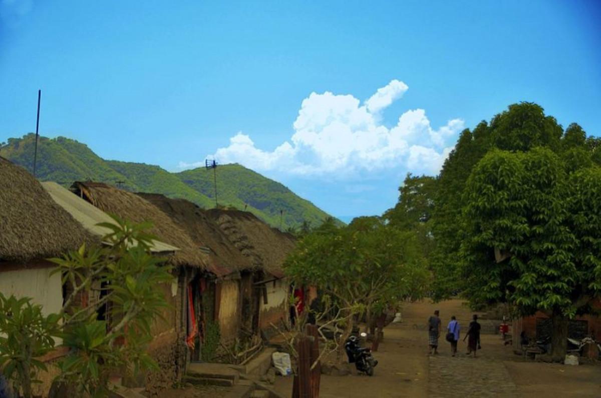 Tenganan Pegringsingan, Desa Bercorak Bali Kuno dan Perang Pandan