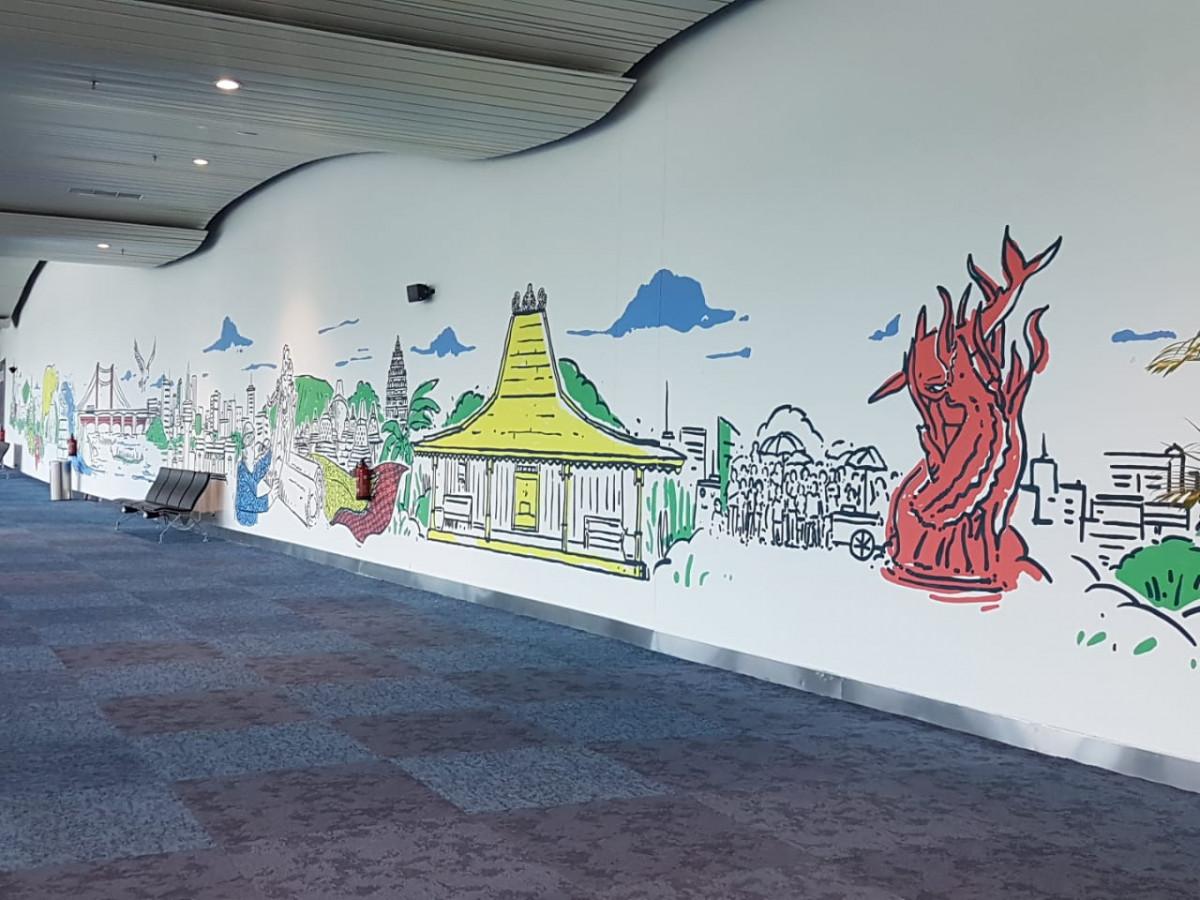 Perbedaan Mural Dan Graffiti Gambar Yang Percantik Gang Dan Jalanan Good News From Indonesia