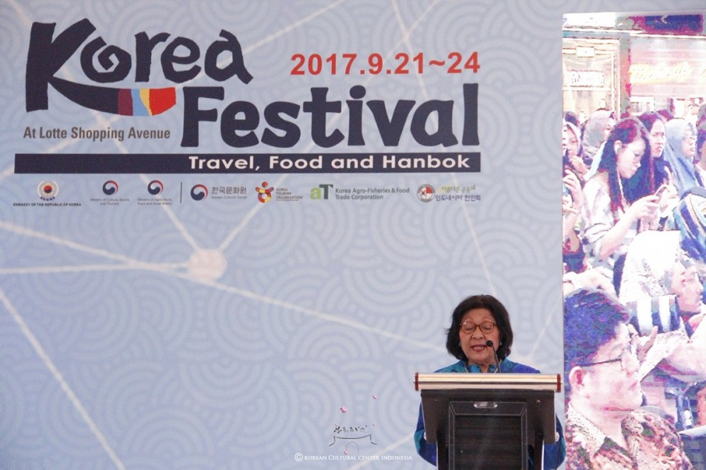 Bagaimana Jadinya Bila Batik Berkolaborasi Dengan Hanbok di Korea Festival 2017