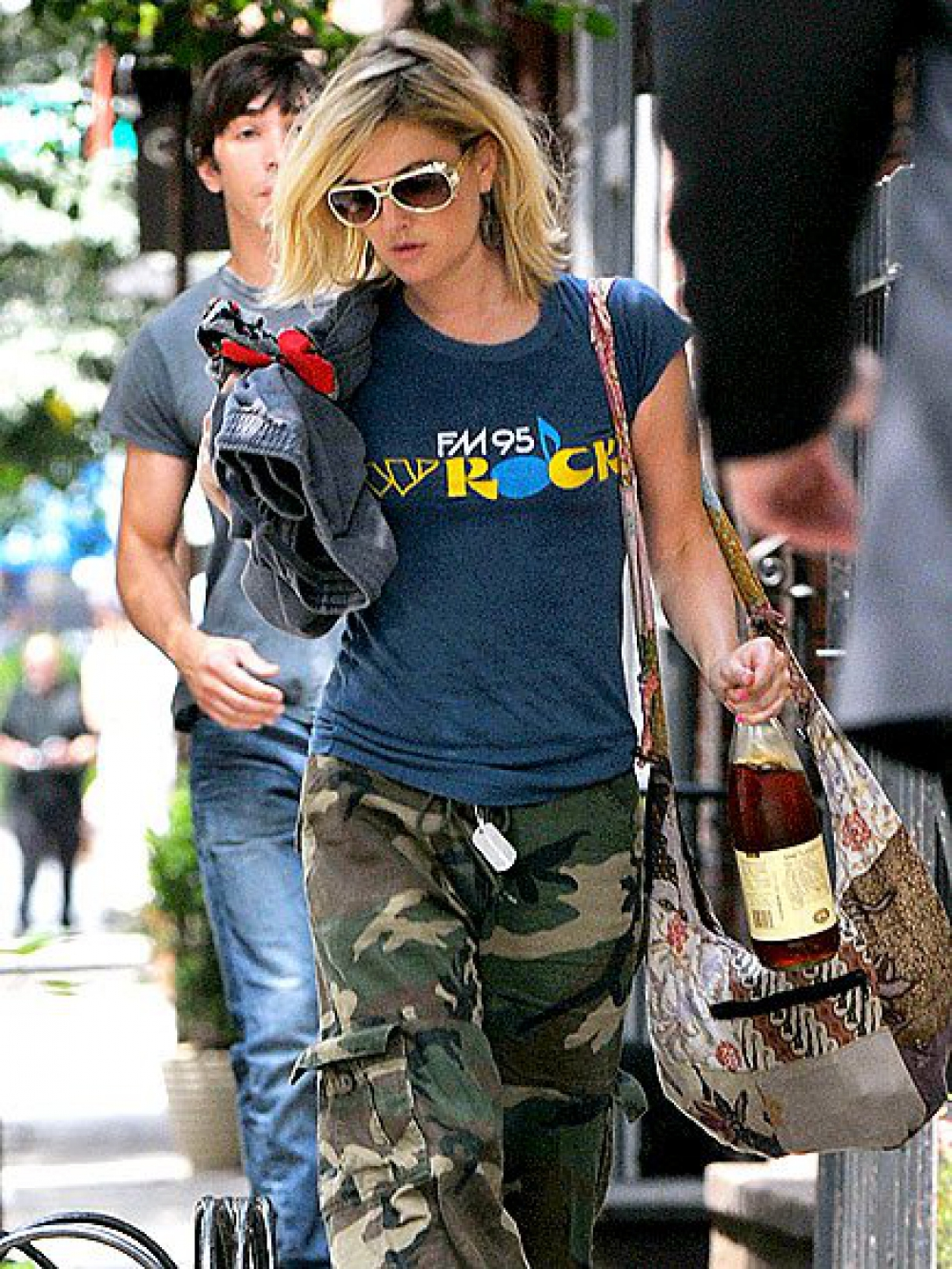 Drew Barrymore With Her Batik