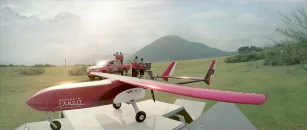 Pesawat Tanpa Awak Karya Anak Bangsa Menerbangi Sabang