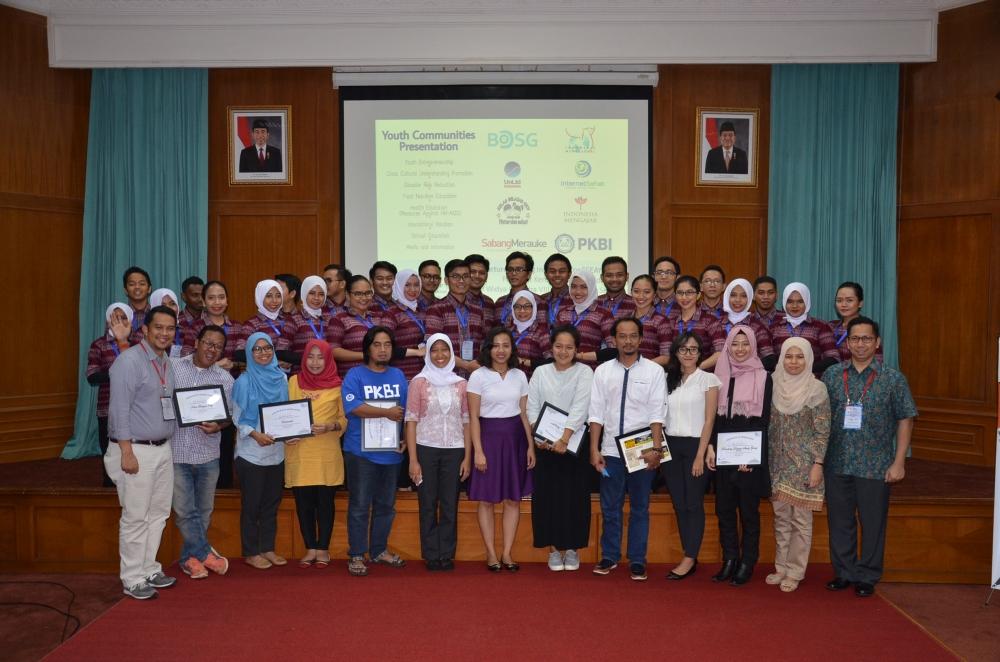 28 Peserta Program Kapal Pemuda Asia Tenggara – Jepang Bertukar Pikiran Dengan Komunitas Pemuda