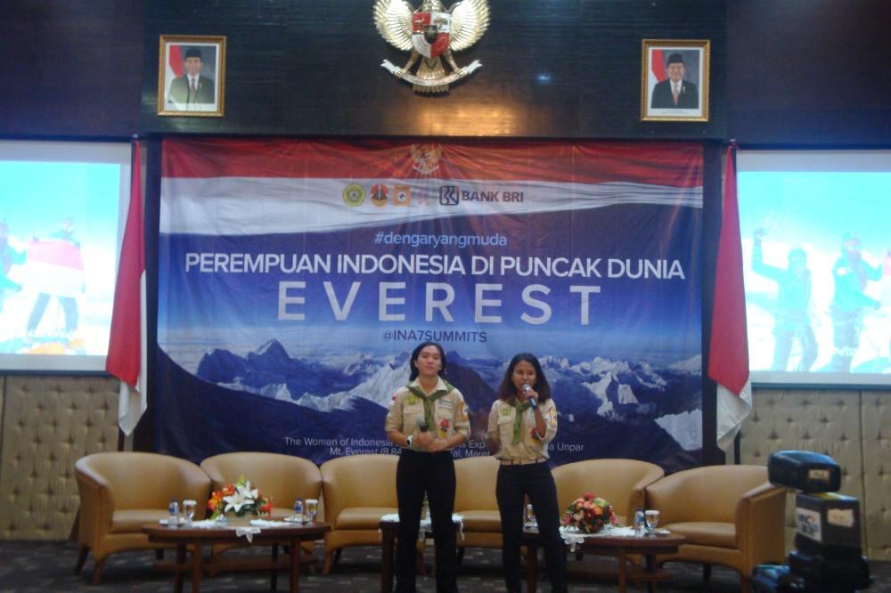 Menanti Srikandi Indonesia Mengibarkan Merah Putih di Puncak Dunia