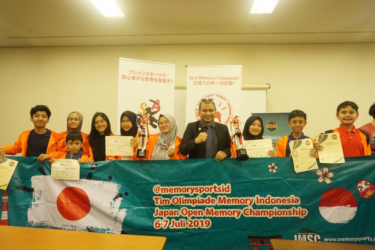 Di Lomba Ini, Daya Ingat Orang Indonesia Lebih Bagus dari Jepang