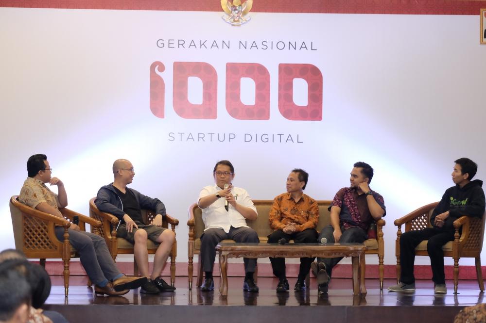 Kominfo dan KIBAR Inisiasi Gerakan 1.000 Startup Digital