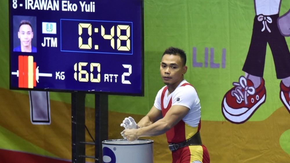 PON XIX JAWA BARAT : Eko Yuli, Persembahkan Medali Emas Juga Rekor Baru
