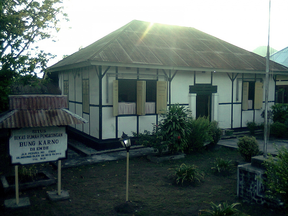 Ende, Flores, NTT: Bung Karno Was Here