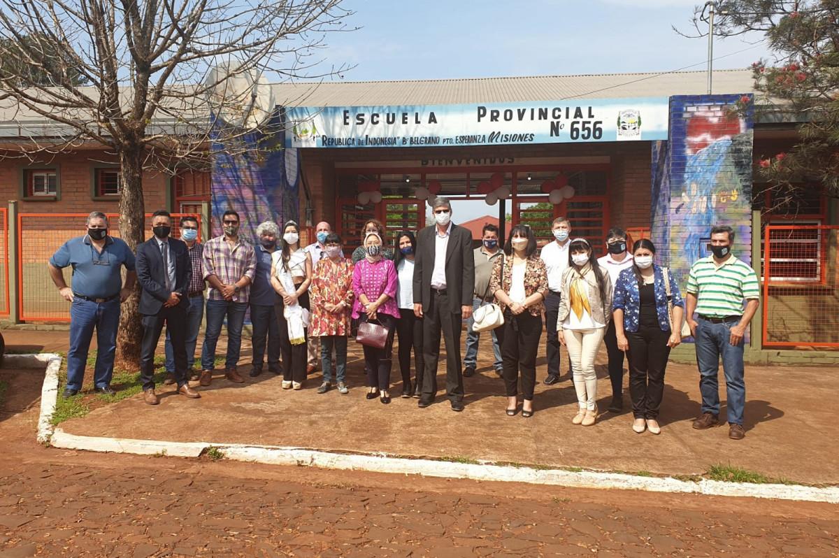 Escuela de la Republica de Indonesia: Warisan Misionaris Indonesia di Negara Argentina