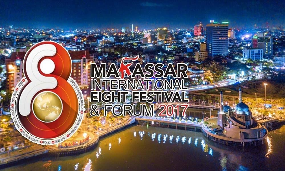 Makassar International Eight Festival, Festival Gelar Seni dan Budaya Yang Berskala Internasional