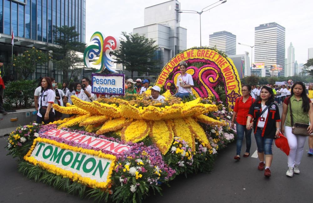Festival Bunga Kelas Dunia 2016 Hadir di Tomohon
