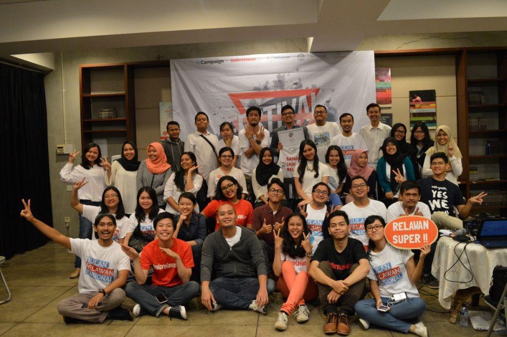 Untuk Pertama Kali, Festival Relawan Sukses Diadakan