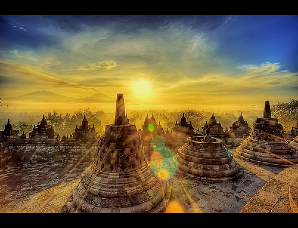 Foto-foto Fantastis Candi Borobudur