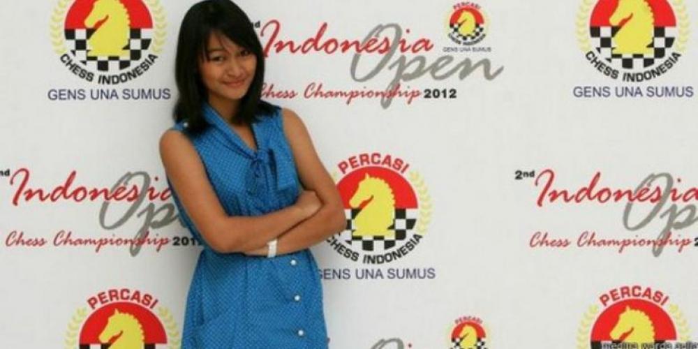 Gadis Cantik Asal Bekasi Grandmaster Catur Termuda Indonesia
