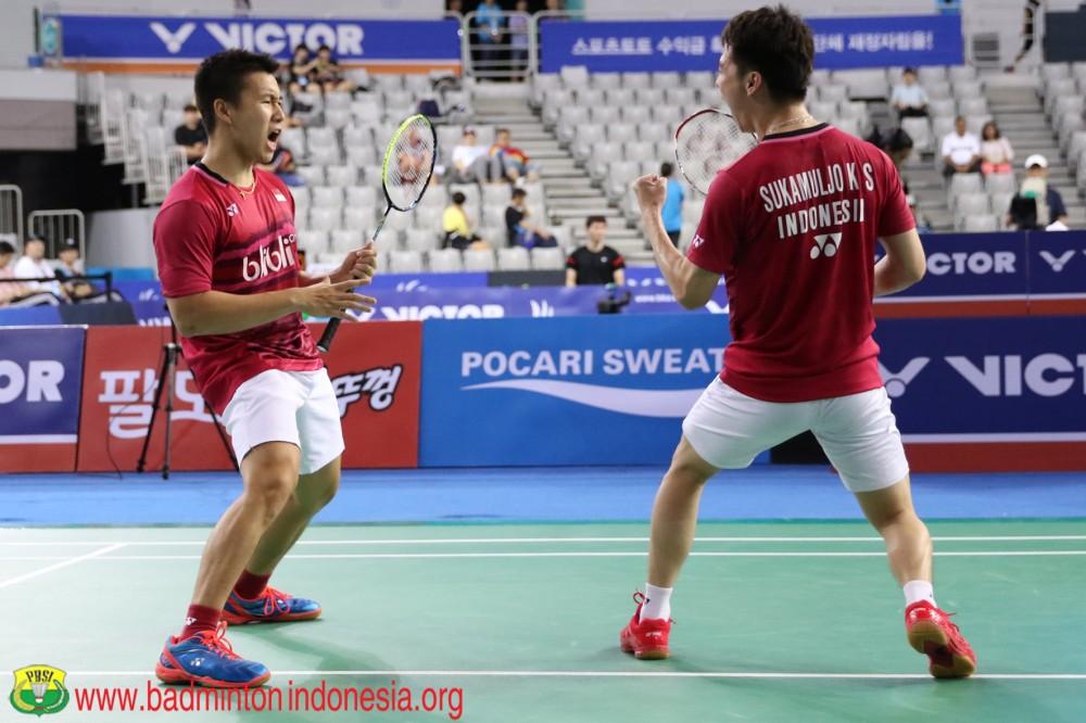 Bangga! Indonesia Raih Juara Umum Turnamen Bulutangkis Korea Open 2017