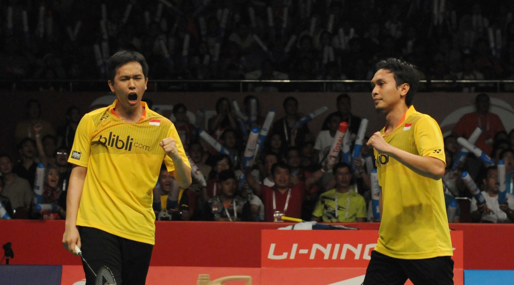 Ganda Putra Indonesia, Meraja di Dubai Superseries 2015