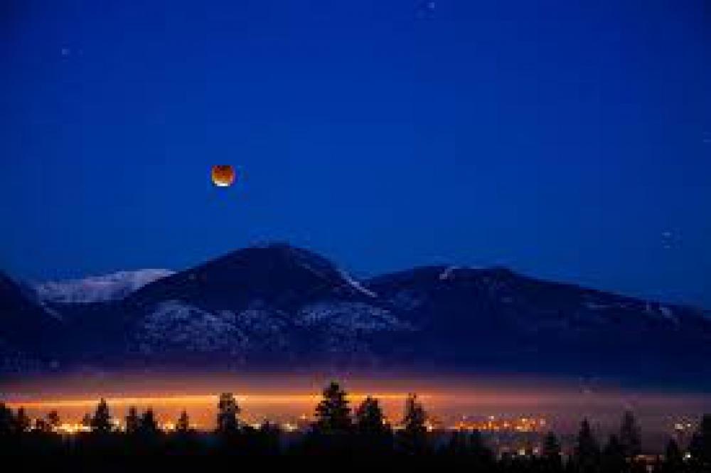 Gerhana Bulan Tergelap Sedunia