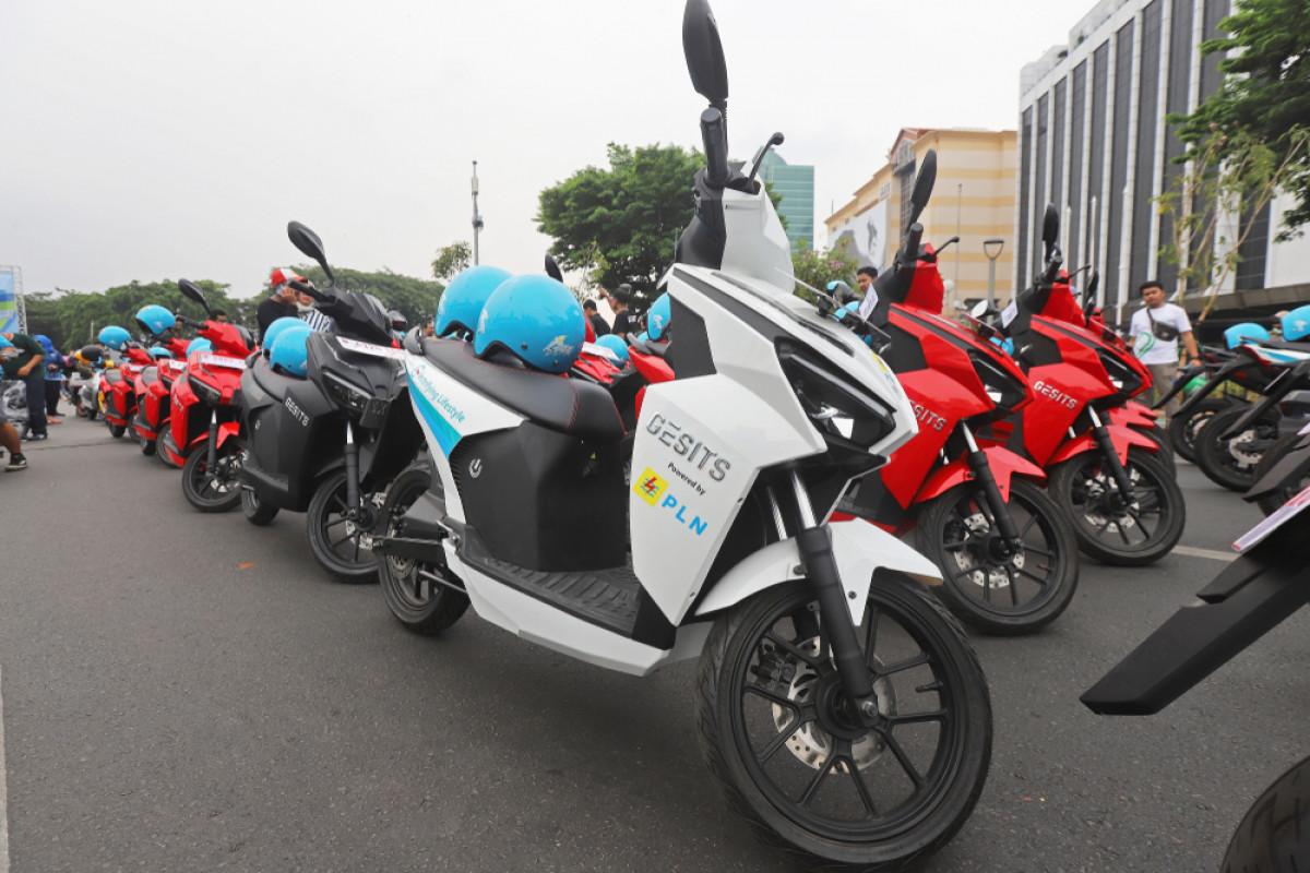 GESITS, Motor Listrik Karya Anak Bangsa yang Menginvasi Jalan Raya Senegal
