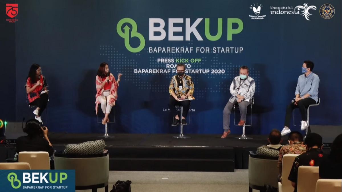 Program BEKUP 2020 Dibuka, Startup di Daerah Diharapkan Bisa Lahirkan Inovasi Baru