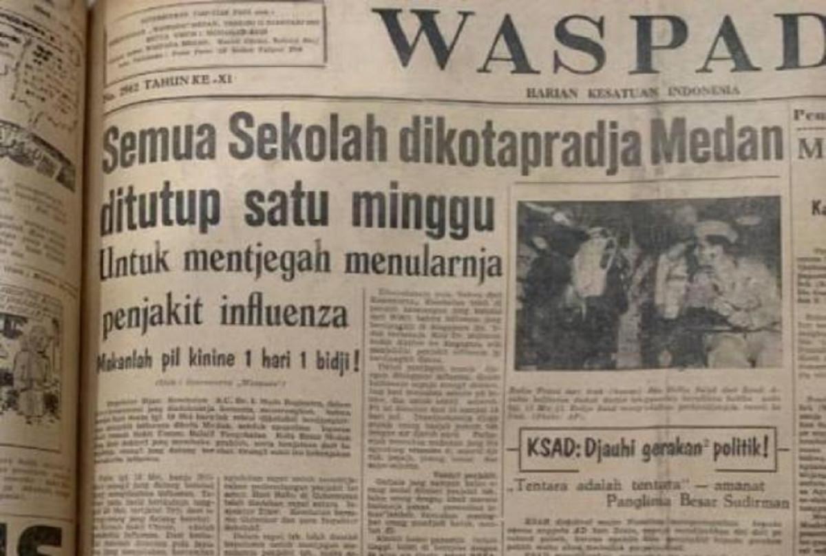 Sejarah Hari Ini (11 Januari 1947) - Mohammad Said dan Ani Idrus Terbitkan Harian Waspada