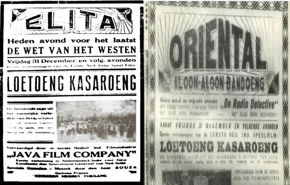 Sejarah Hari Ini (31 Desember 1926) - Loetoeng Kasaroeng, Film Pertama Buatan Indonesia