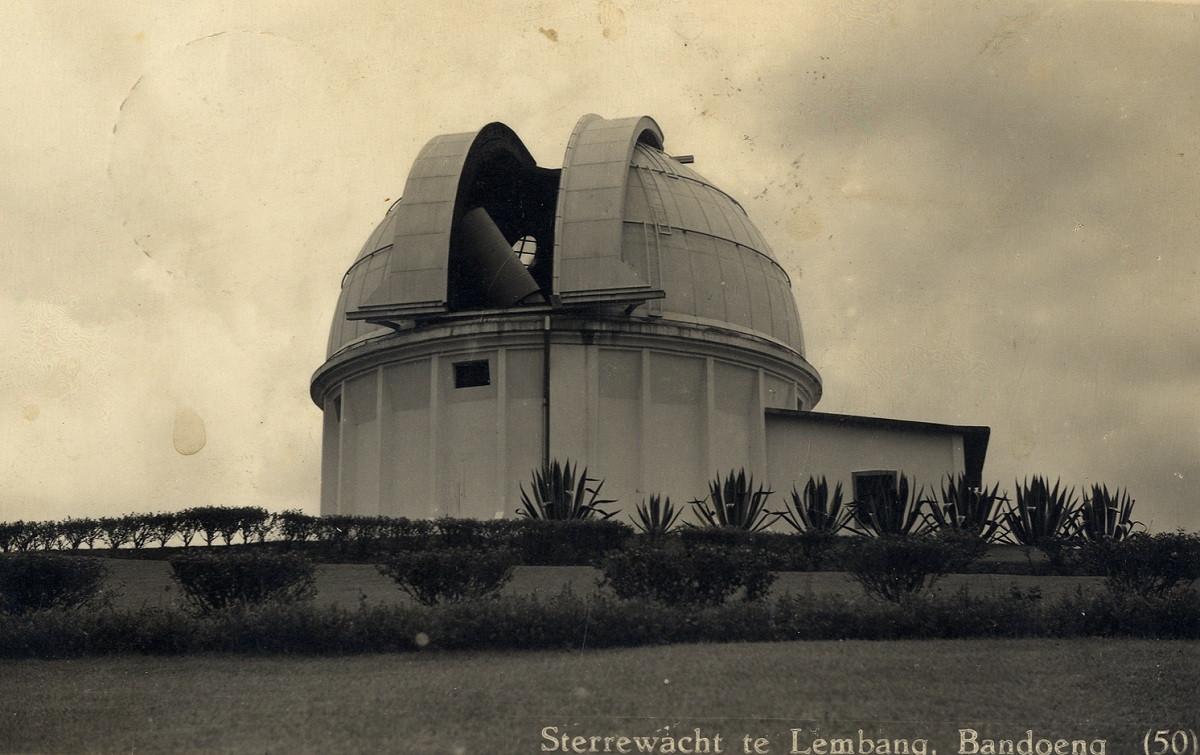 Sejarah Hari Ini (7 Juni 1928) - Teleskop Zeiss Observatorium Bosscha Siap Dicoba