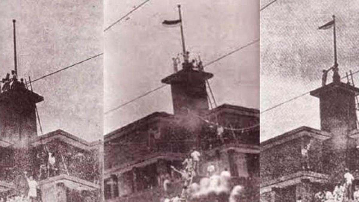 Sejarah Hari Ini (19 September 1945) - Perobekan Bendera Belanda di Hotel Yamato, Surabaya