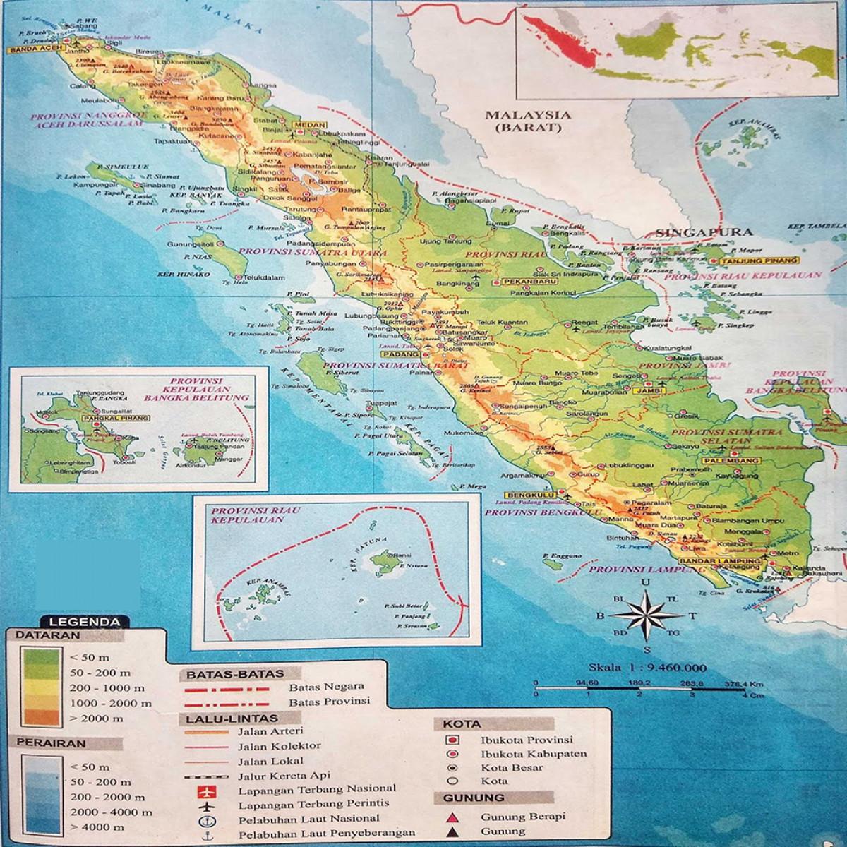 Sejarah Hari Ini (26 September 1959) - Sumatra Terbagi dalam Tiga Provinsi