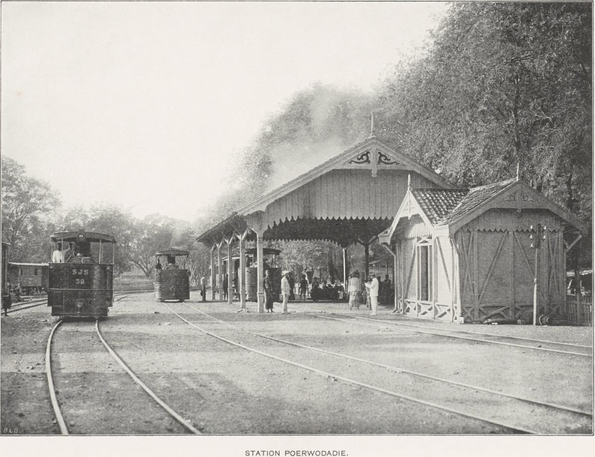 Sejarah Hari Ini (5 Mei 1895) - SJS Buka Jalur Trem Uap Mayong-Pecangaan