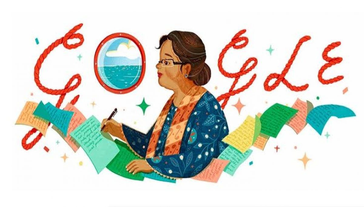 Novelis Ternama dari Indonesia Jadi Google Doodle Hari Ini