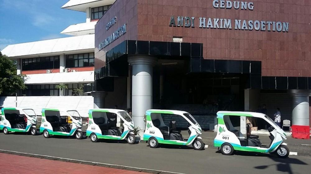 Green Car, Kendaraan Roda Tiga Ramah Lingkungan Karya IPB