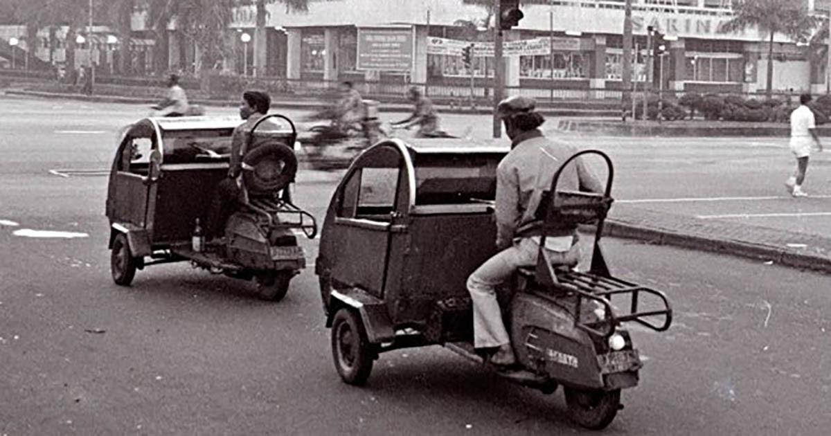 Ragam Moda Transportasi Djadoel Khas Jakarta Siapa Pernah Coba