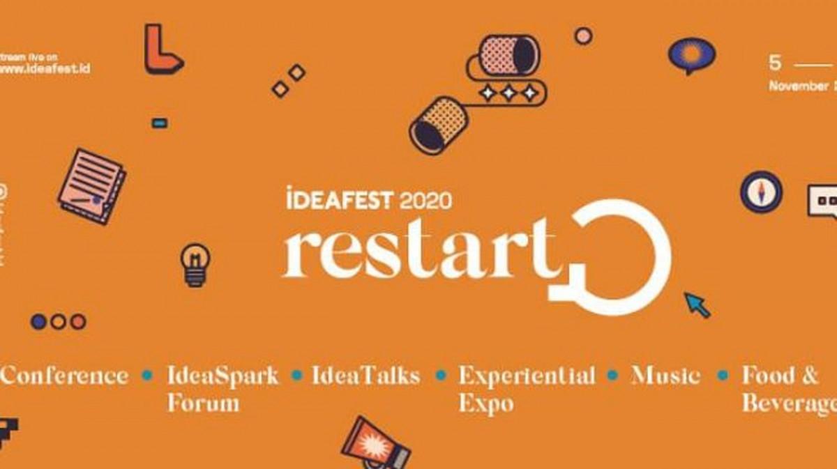 IDEAFEST 2020, Dorong Pertumbuhan Ekonomi & Industri Kreatif Indonesia