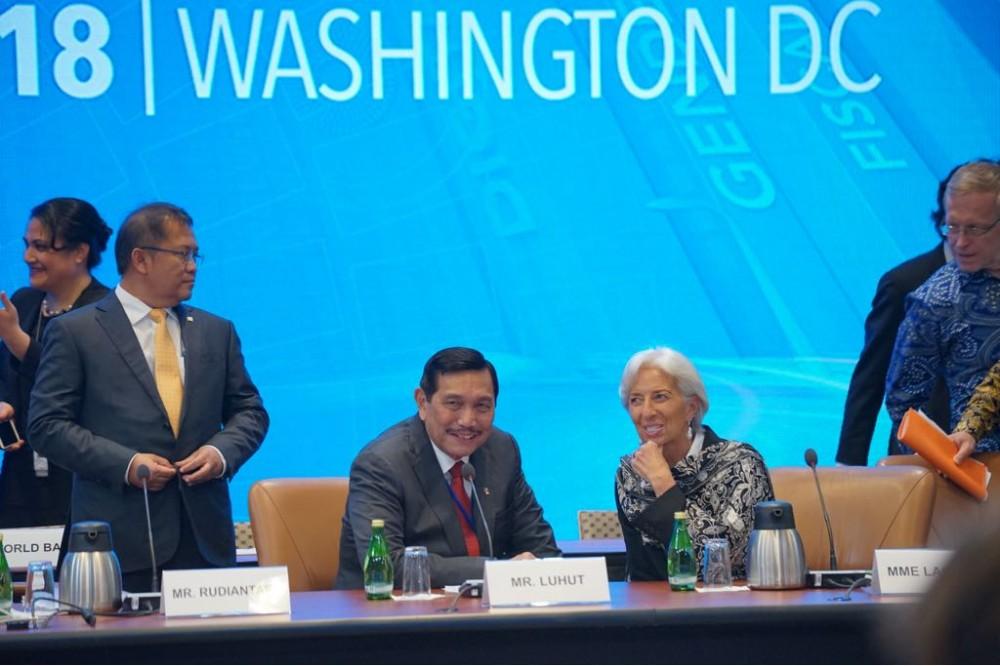 Ternyata Jadi Tuan Rumah IMF Annual Meeting, RI Untung Besar