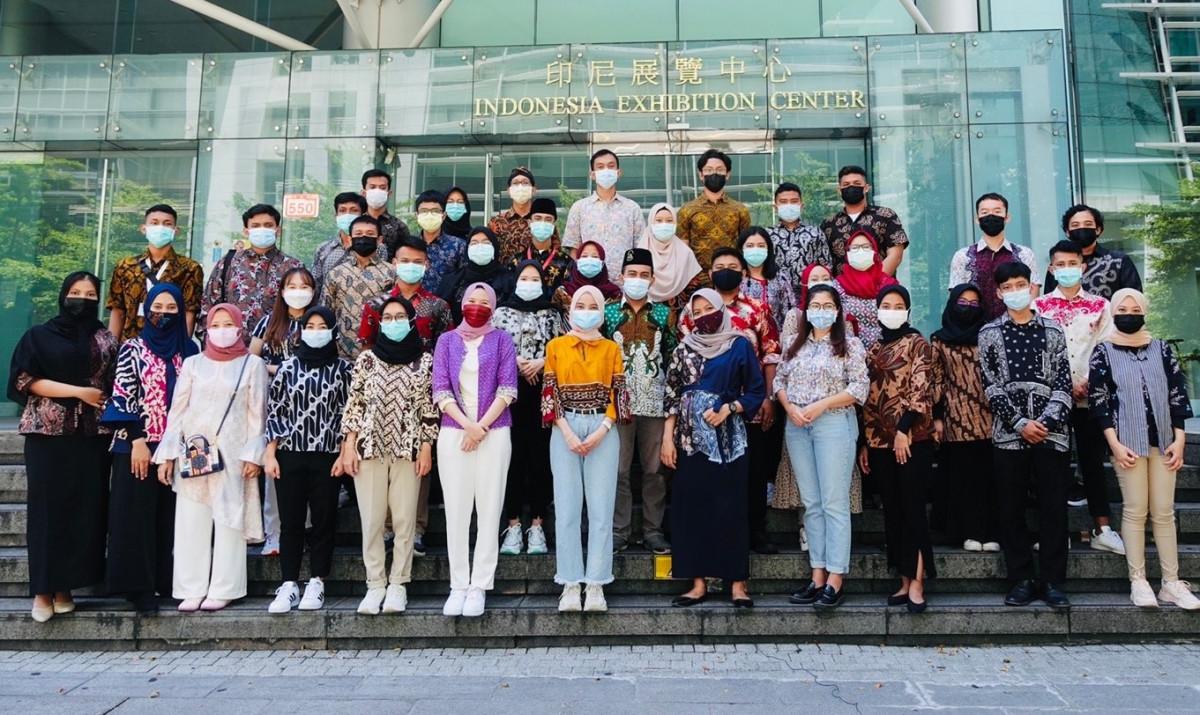 Perhimpunan Pelajar Indonesia di Taiwan Hadirkan Pemimpin Wanita Pertama