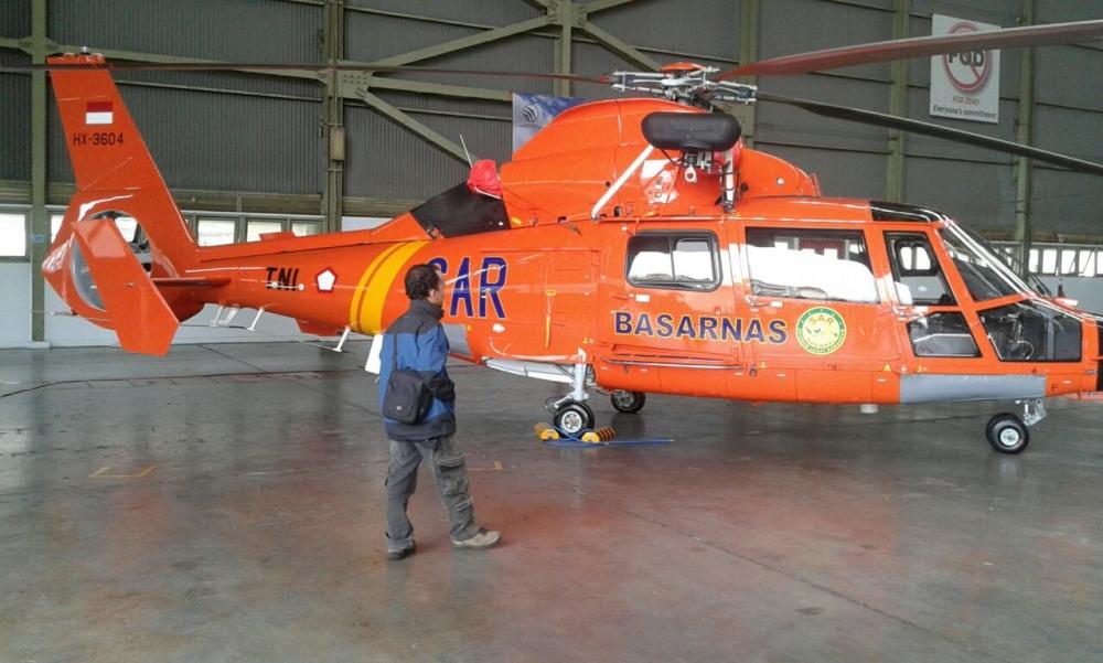 Inilah Helikopter Buatan PTDI yang Bantu Evakuasi Air Asia QZ8501