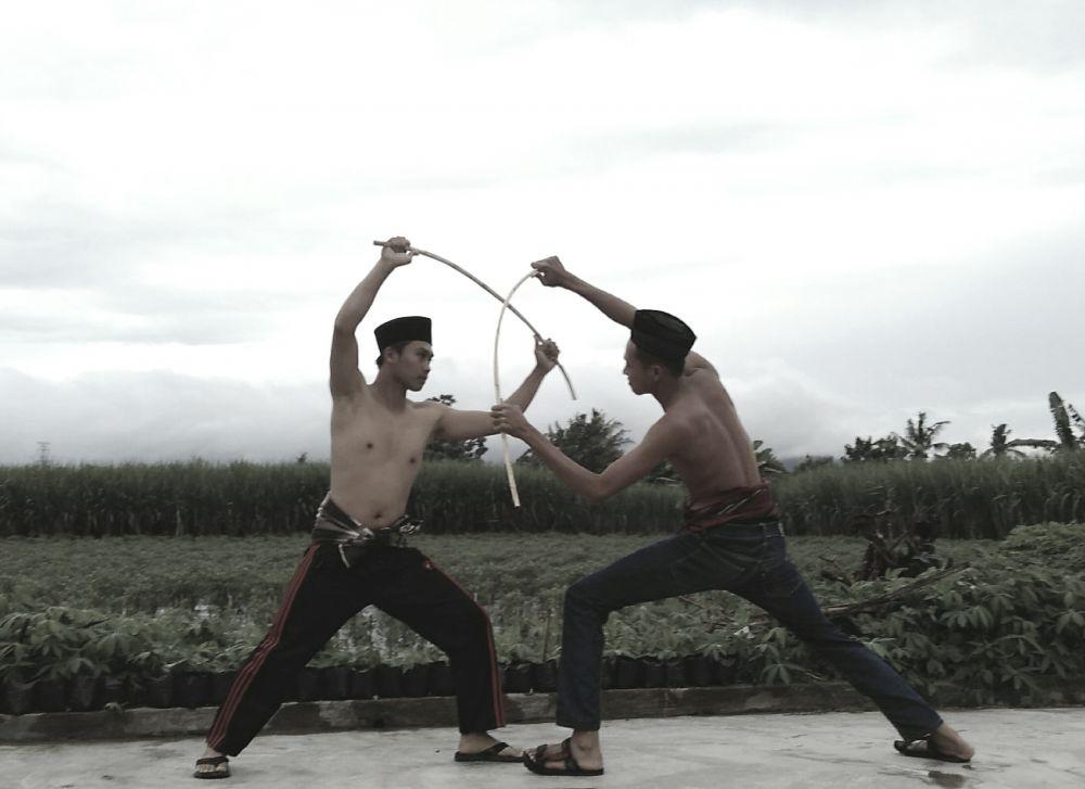 Pencak Rotan Ojhung dari Bondowoso