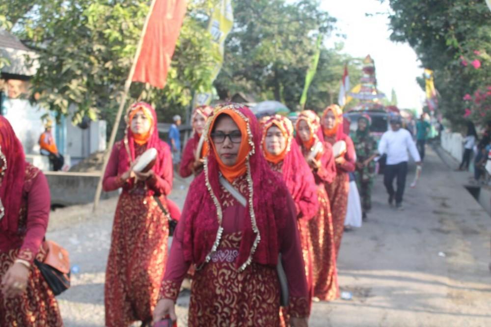 Kemeriahan Perayaan Kemerdekaan RI di Desa Tampingmojo, Tembelang, Jombang