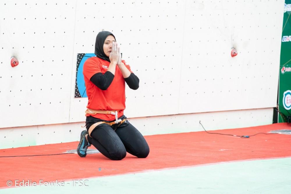 2 Pemanjat Asal Indonesia Raih Kemenangan pada Kompetisi Internasional di Cina