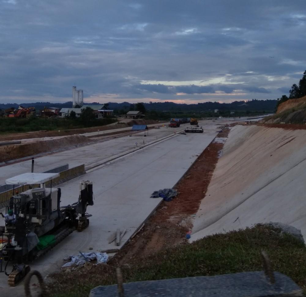 Menyambut Tol Pertama di Kalimantan