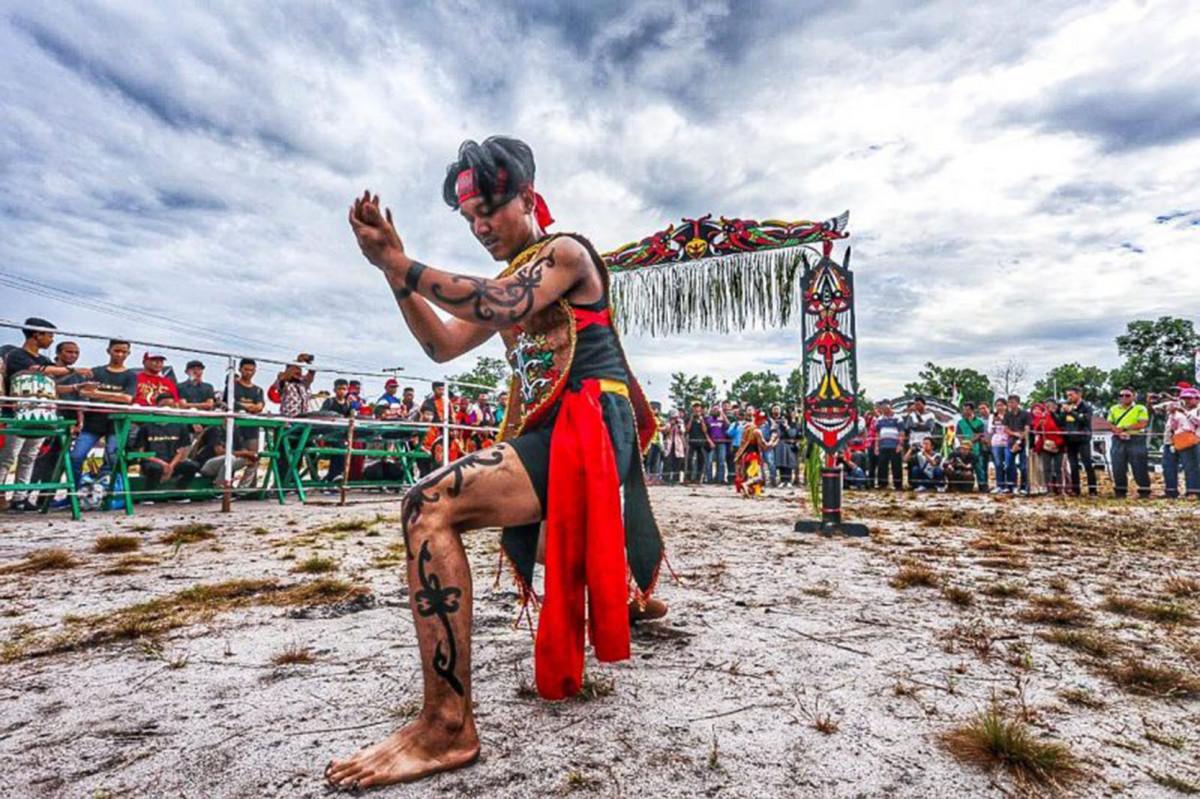 Mengenal Kuntau Bangkui, Silat dari Suku Dayak Ngaju