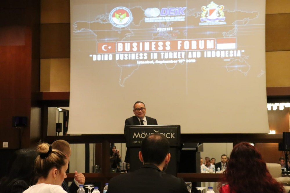 Forum Bisnis Indonesia dan Turki di Istanbul Bahas Kesempatan Bisnis Antar Kedua Negara