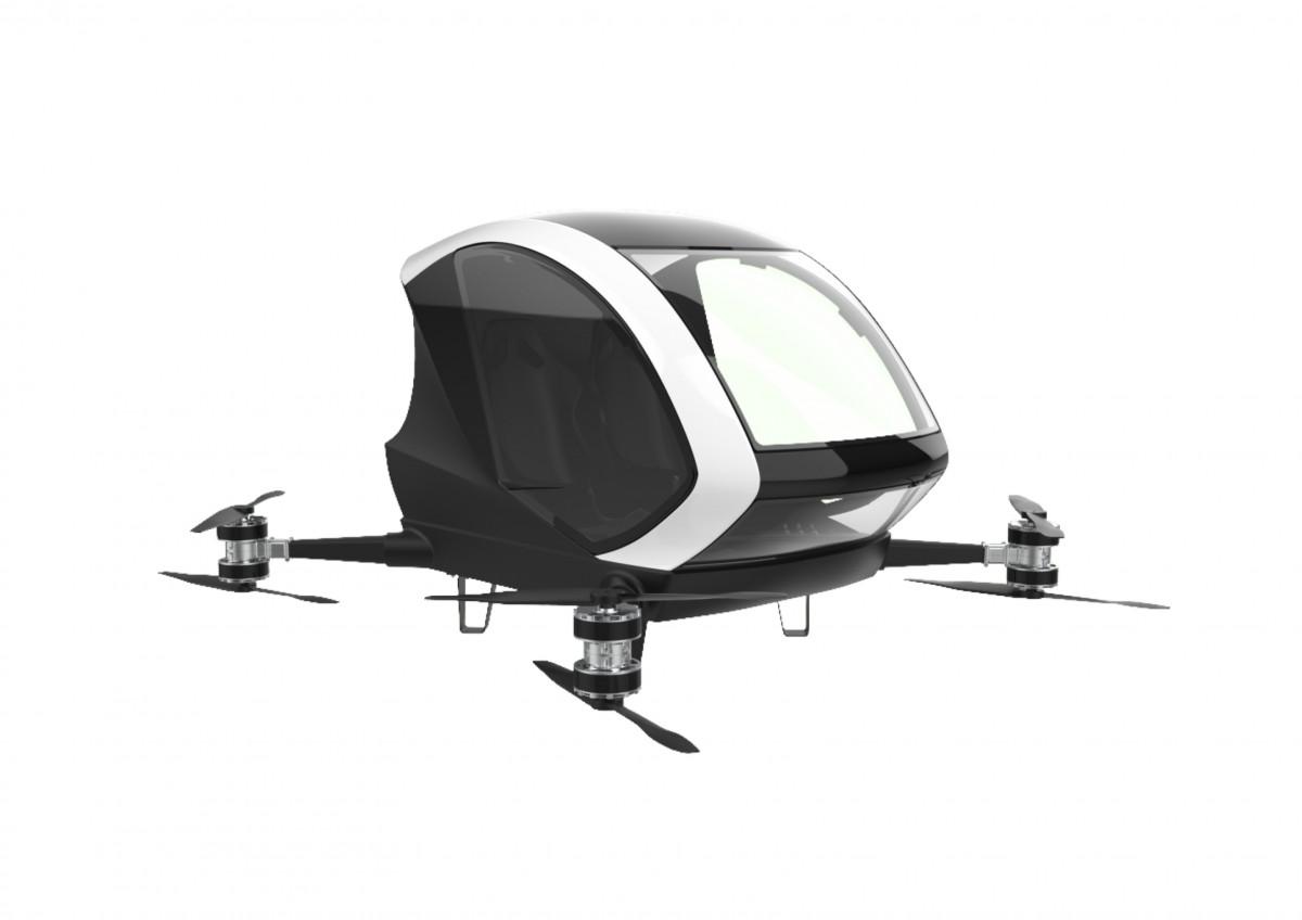 Keren! Startup dari Yogyakarta Ini Kembangkan Taksi Terbang dengan Teknologi Drone