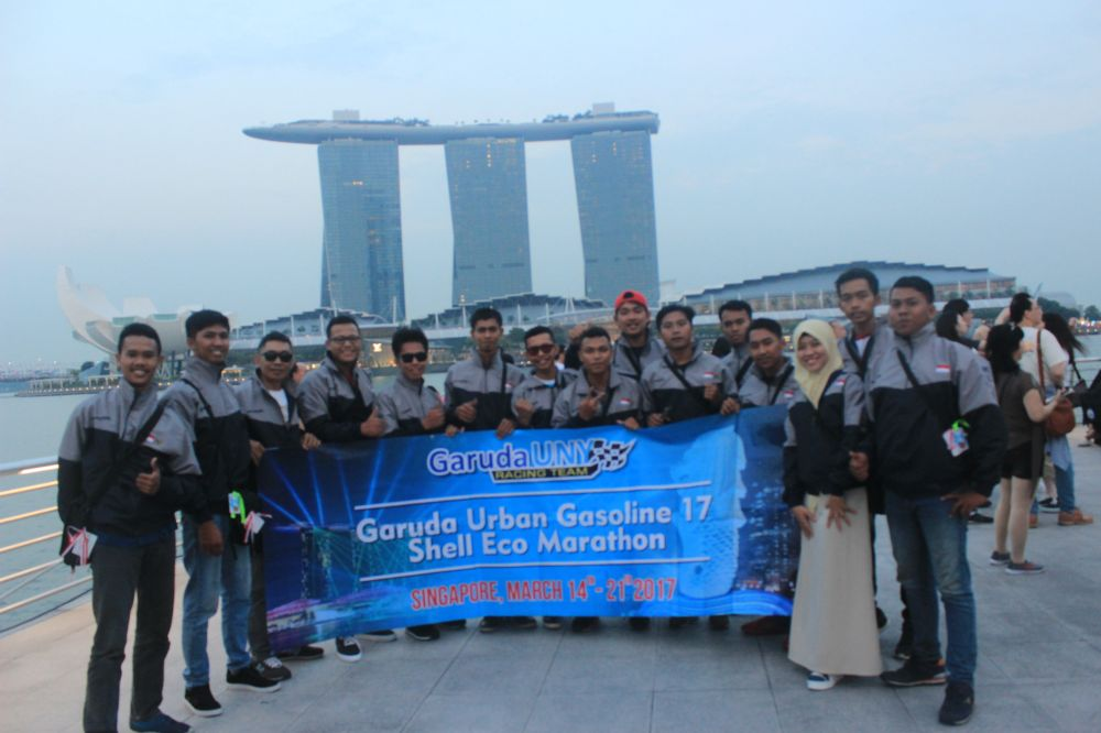 "Garuda UNY Team Siap ""Bertempur"" di Singapura"