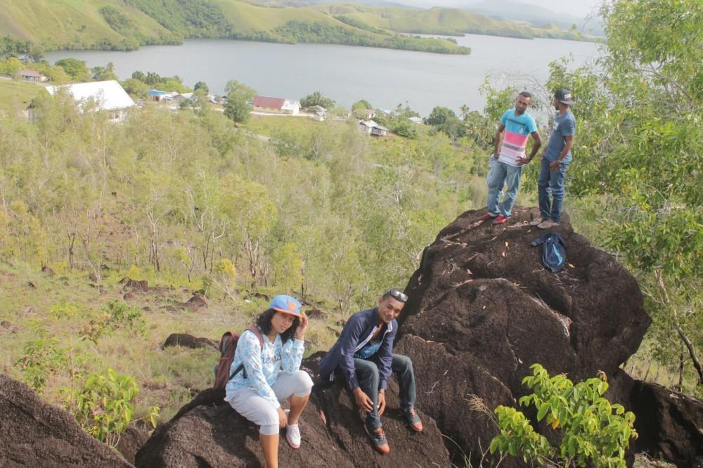 Cerita Makhluk Hidup dan Alam Papua di Situs Megalitik Tutari