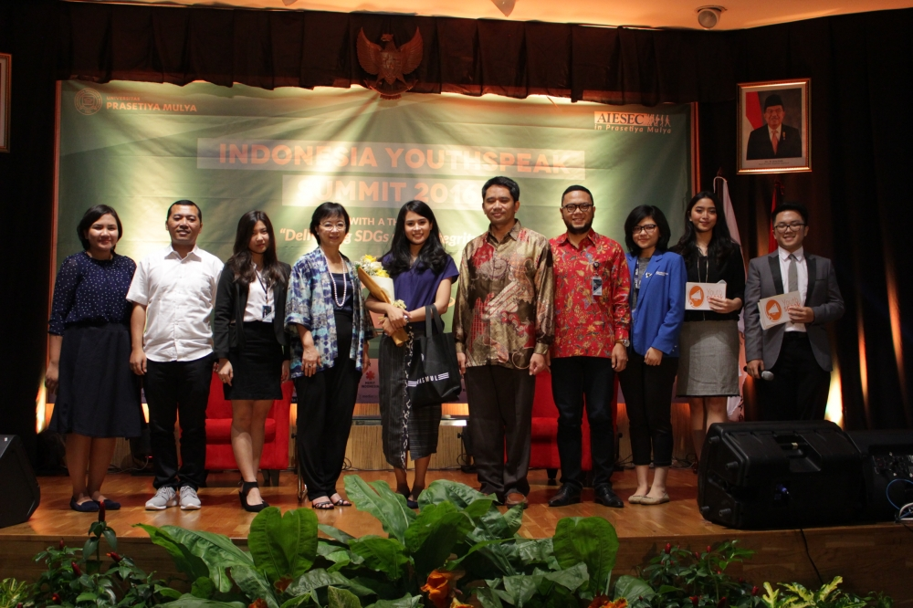 Indonesia YouthSpeak Summit 2016 : Beraksi untuk Sustainable Development Goals (SDGs)