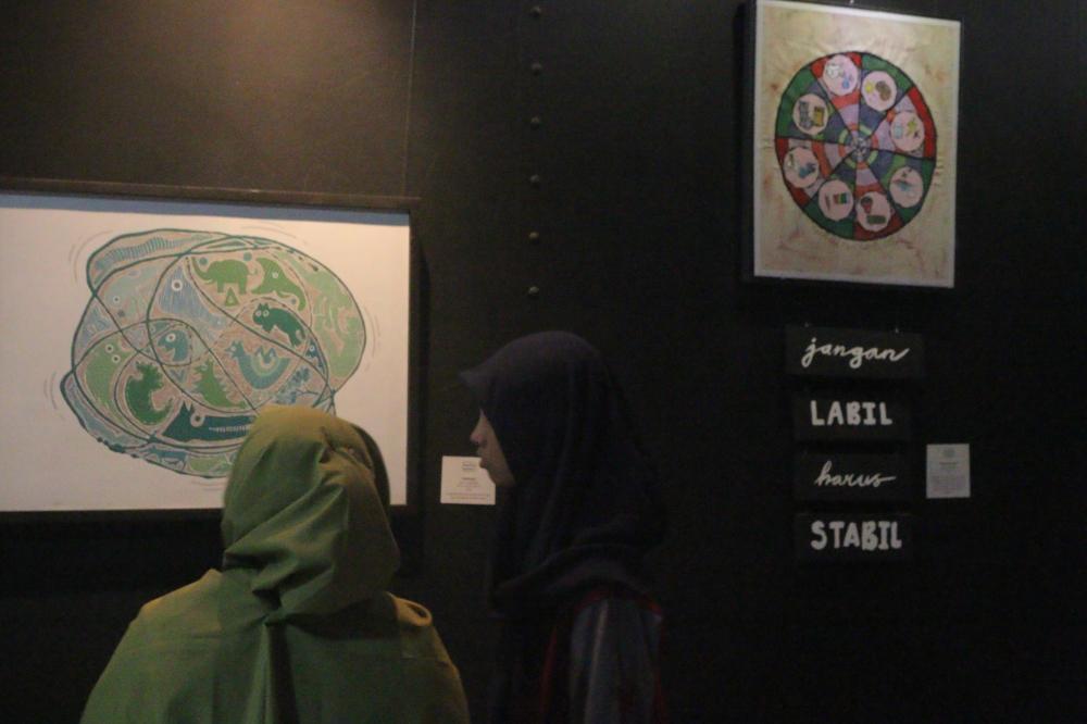 "Serufo UNY Gelar Pameran ""Metronome"" di Desa Wisata Kasongan, Yogyakarta"