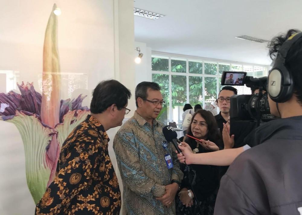 Indonesia Berpartisipasi dalam Botanical Art Worldwide Pertama di Dunia