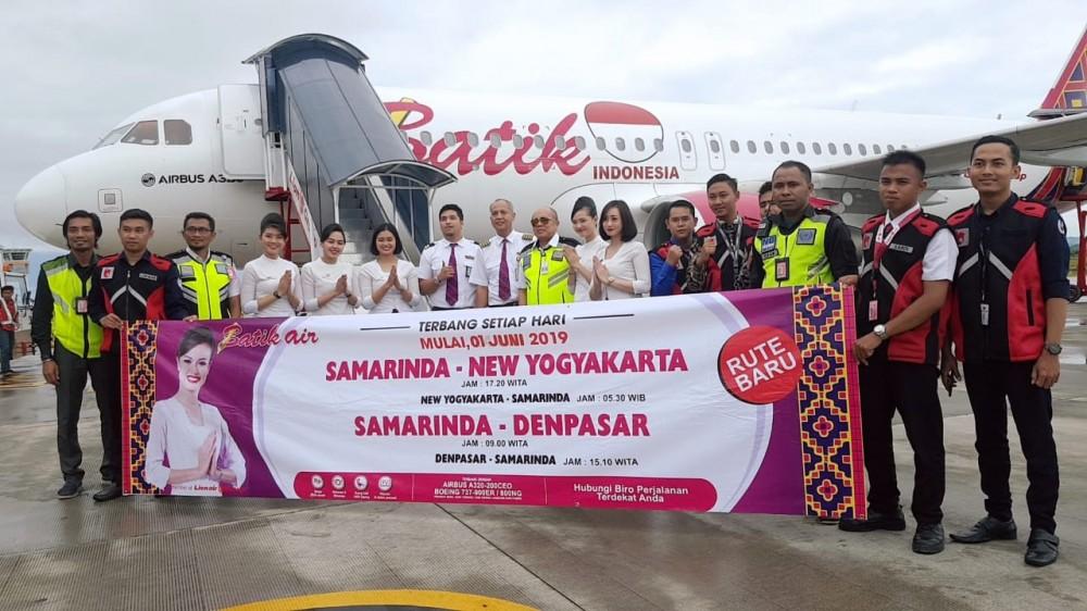 Samarinda ke YIA dan Bali Terhubung Berkat Batik Air