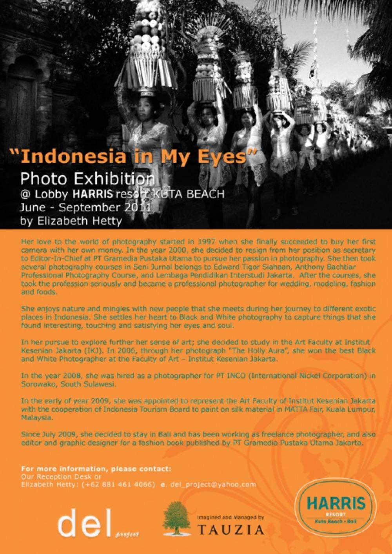 Indonesia Dalam Lensa Elisabeth Hetty