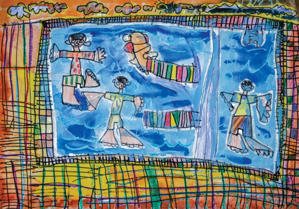 Indonesia juara di International Childrens and Young Peoples Art Competition, Polandia